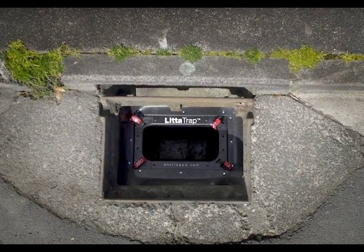 LittaTrap™ demonstrates high litter and sediment removal in international testing